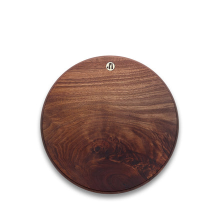 Round Walnut Cutting Board