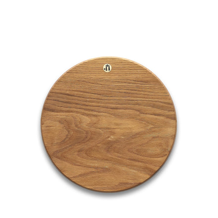 Round White Oak Cutting Board