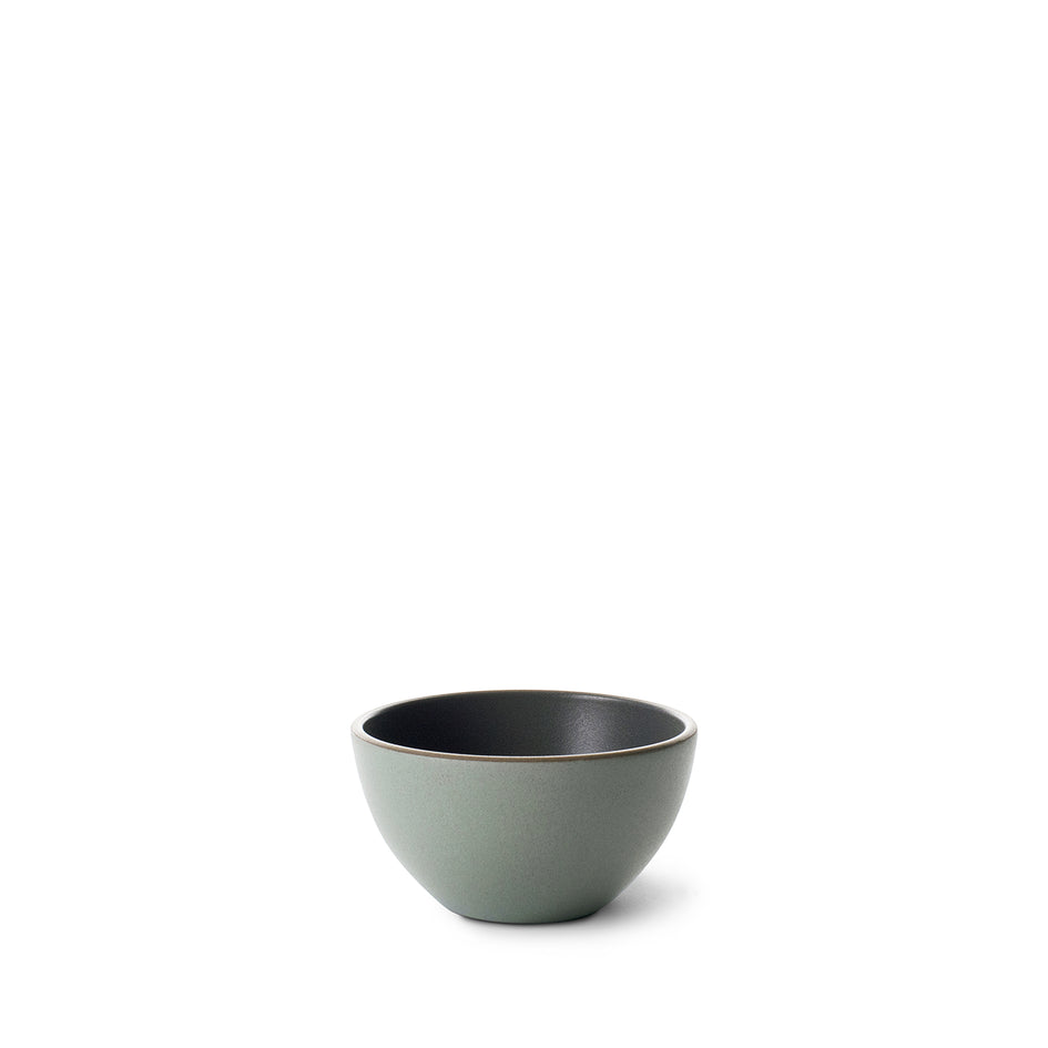 Dessert bowl in Zinc/Penny Green Image 1