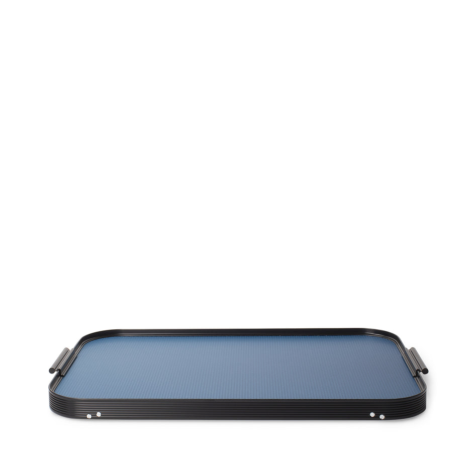 Diamond Bed Tray in Royal Blue Zoom Image 2