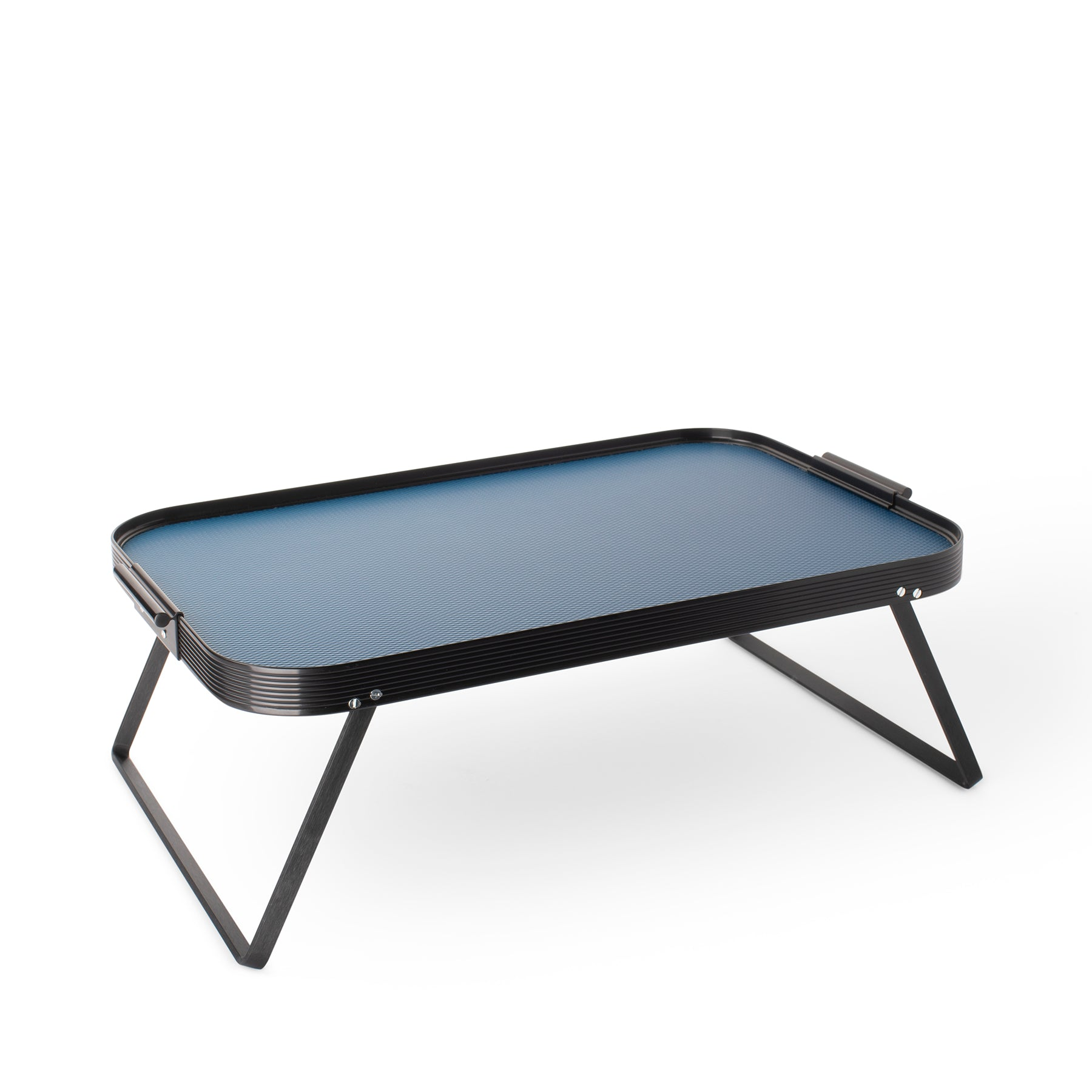 Diamond Bed Tray in Royal Blue Zoom Image 1