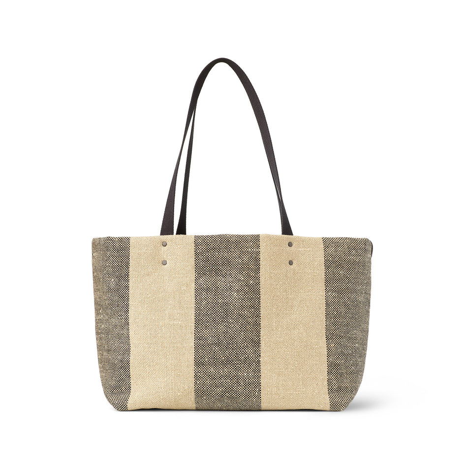 Linen Large Reversible Tote in Pluot Zoom Image 2