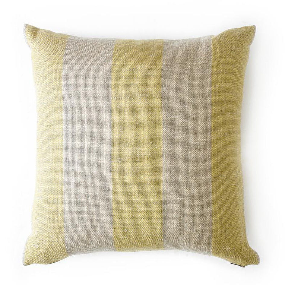 Double Wide Pillow in Citron Image 1
