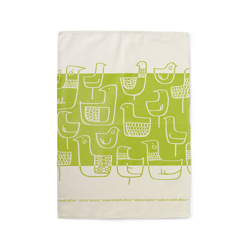 Eep Tea Towel in Olive Image 2