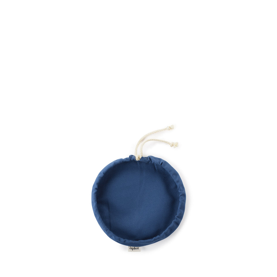 Couvre-Plat Extra Small Bowl Cover in Navy Image 1