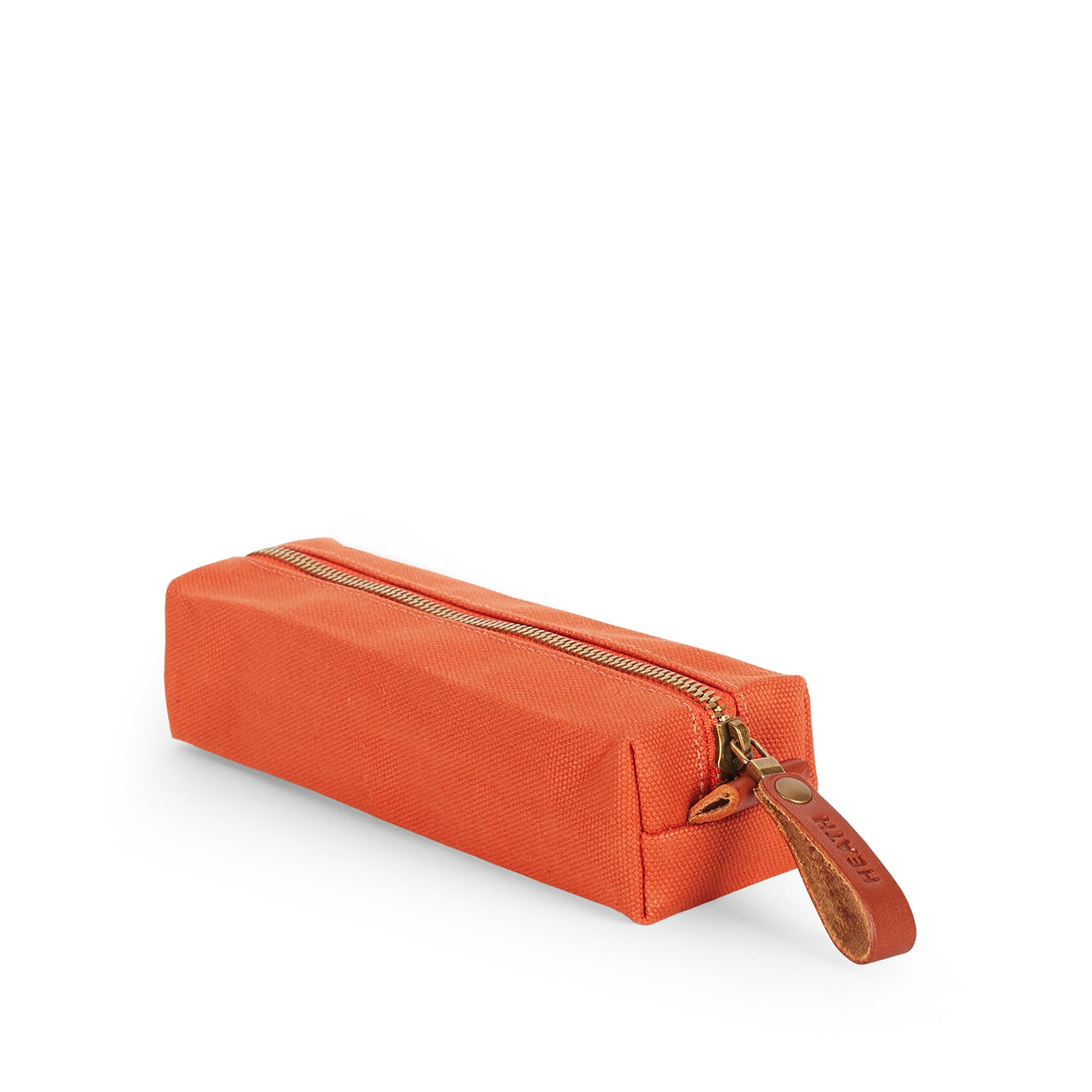 Flat Block Pouch in Terracotta Zoom Image 1