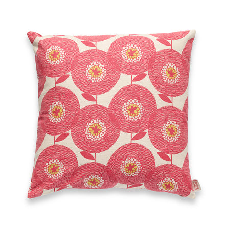 Flowerfields Pillow in Rosy