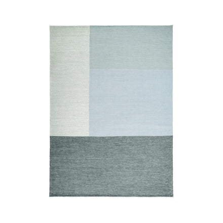 Wool Fold Rug in Periwinkle