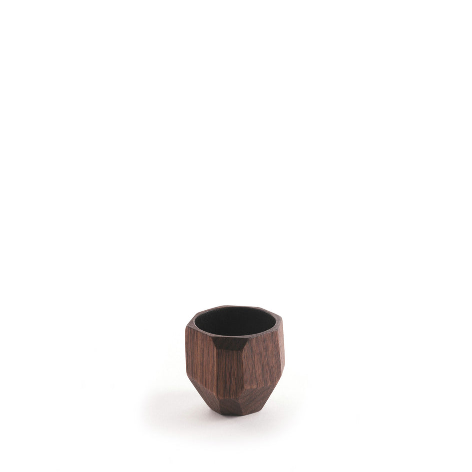 Black Walnut Geode Cup Image 1