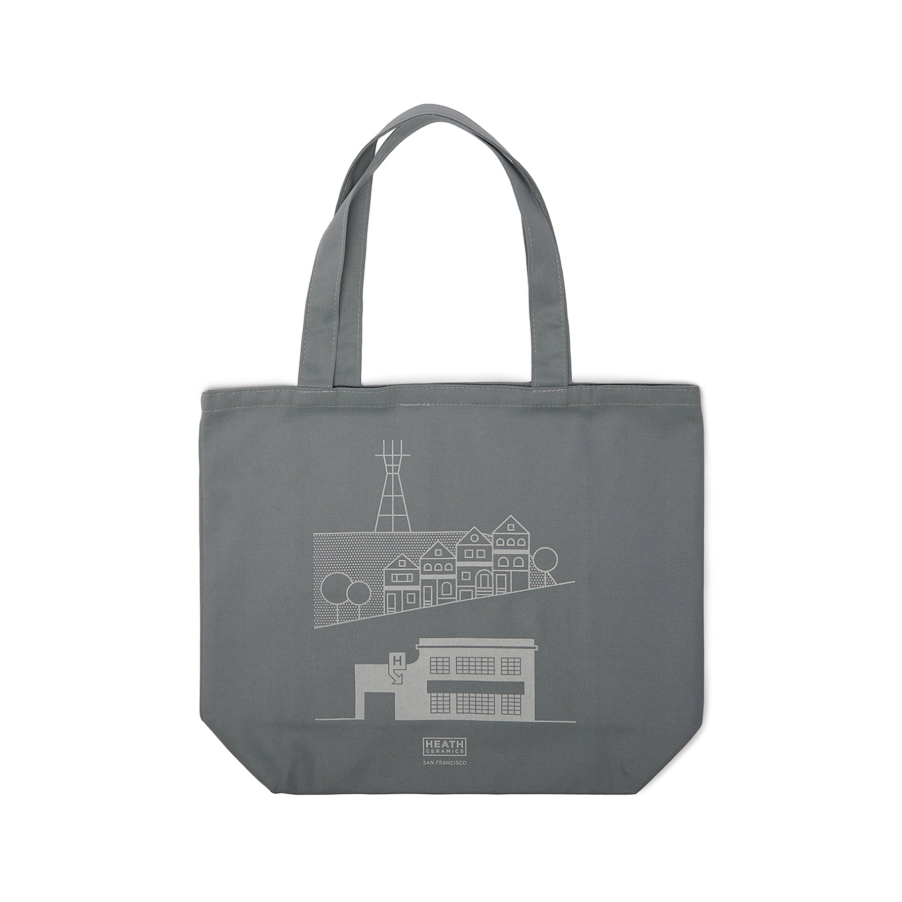San Francisco Tote in Cool Grey Zoom Image 1