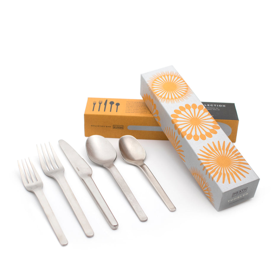 Muir Flatware in Tumbled (5 piece setting) Image 3