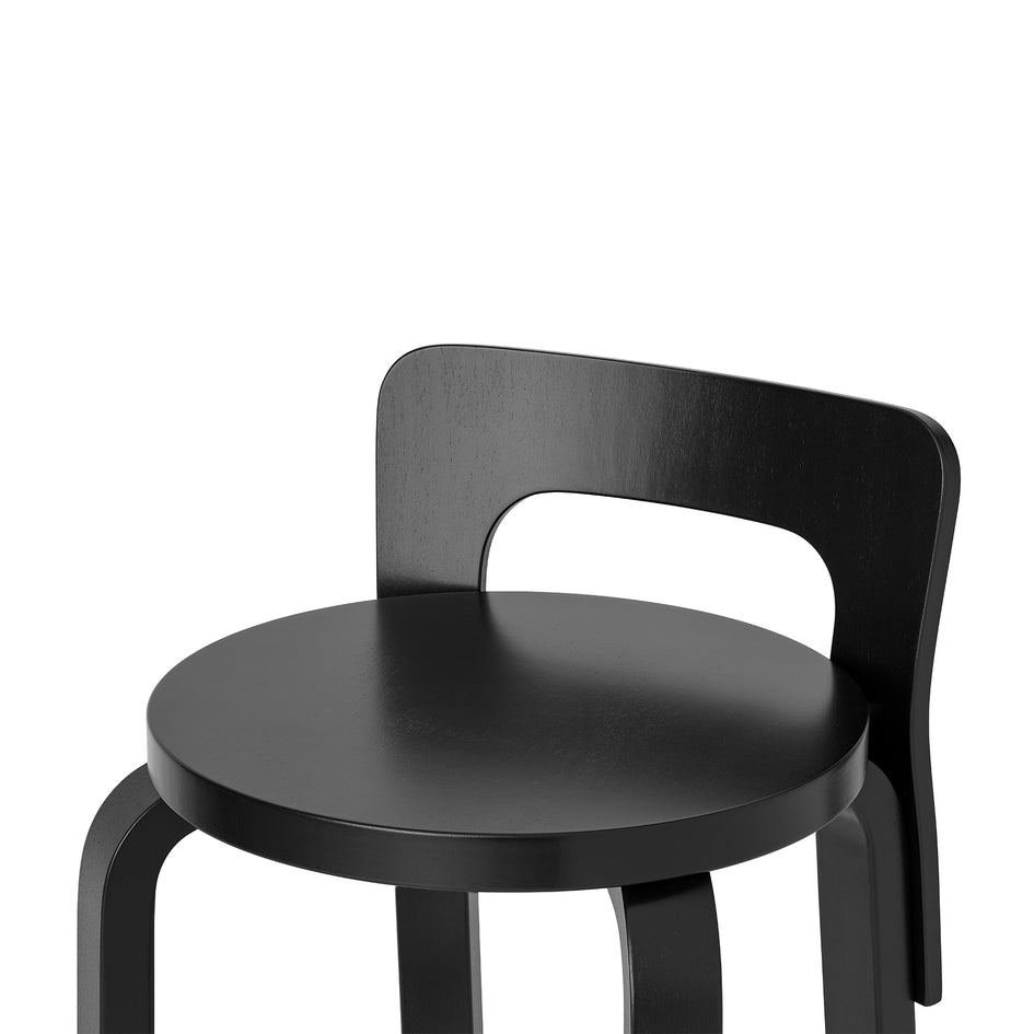 High Chair K65 in Black Zoom Image 2