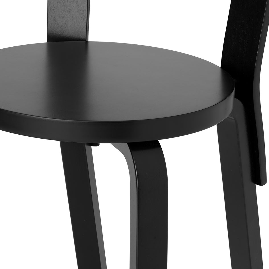High Chair K65 in Black Zoom Image 3