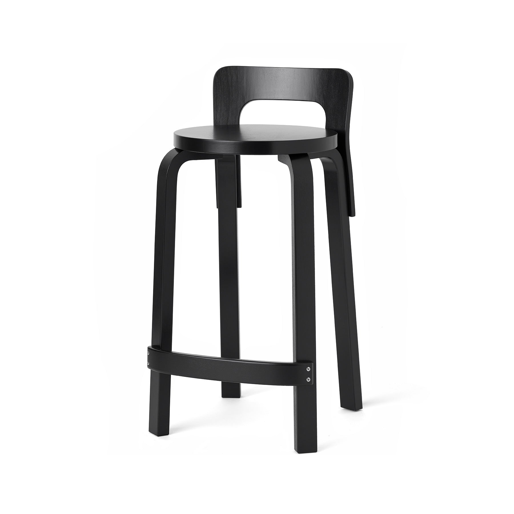 High Chair K65 in Black Zoom Image 1