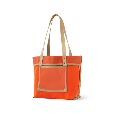 Reversible Tote in Campari