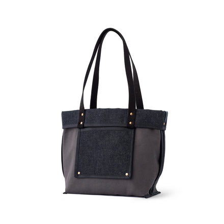 Reversible Tote in Slate