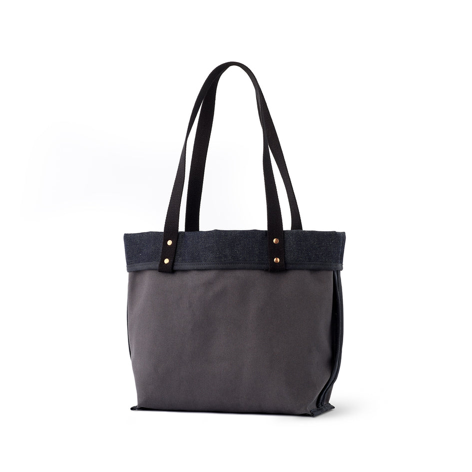 Reversible Tote in Slate Image 2