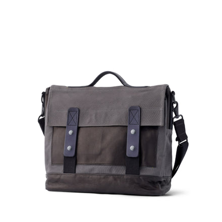 Heath + Stein Supply Bag in Gunmetal