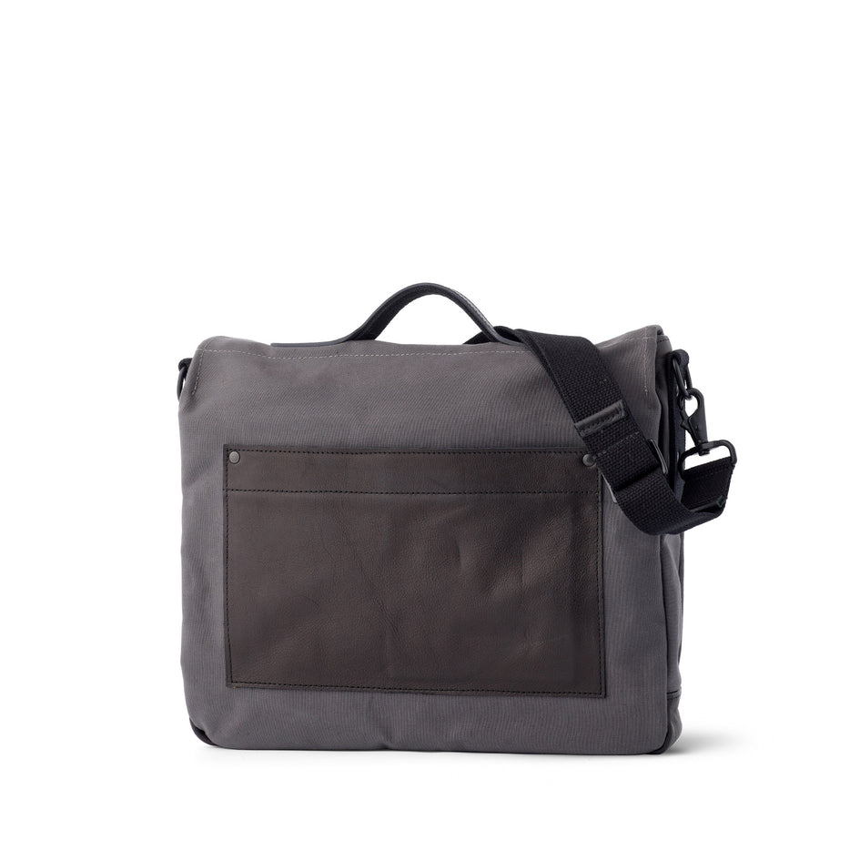 Heath + Stein Supply Bag in Gunmetal Image 2
