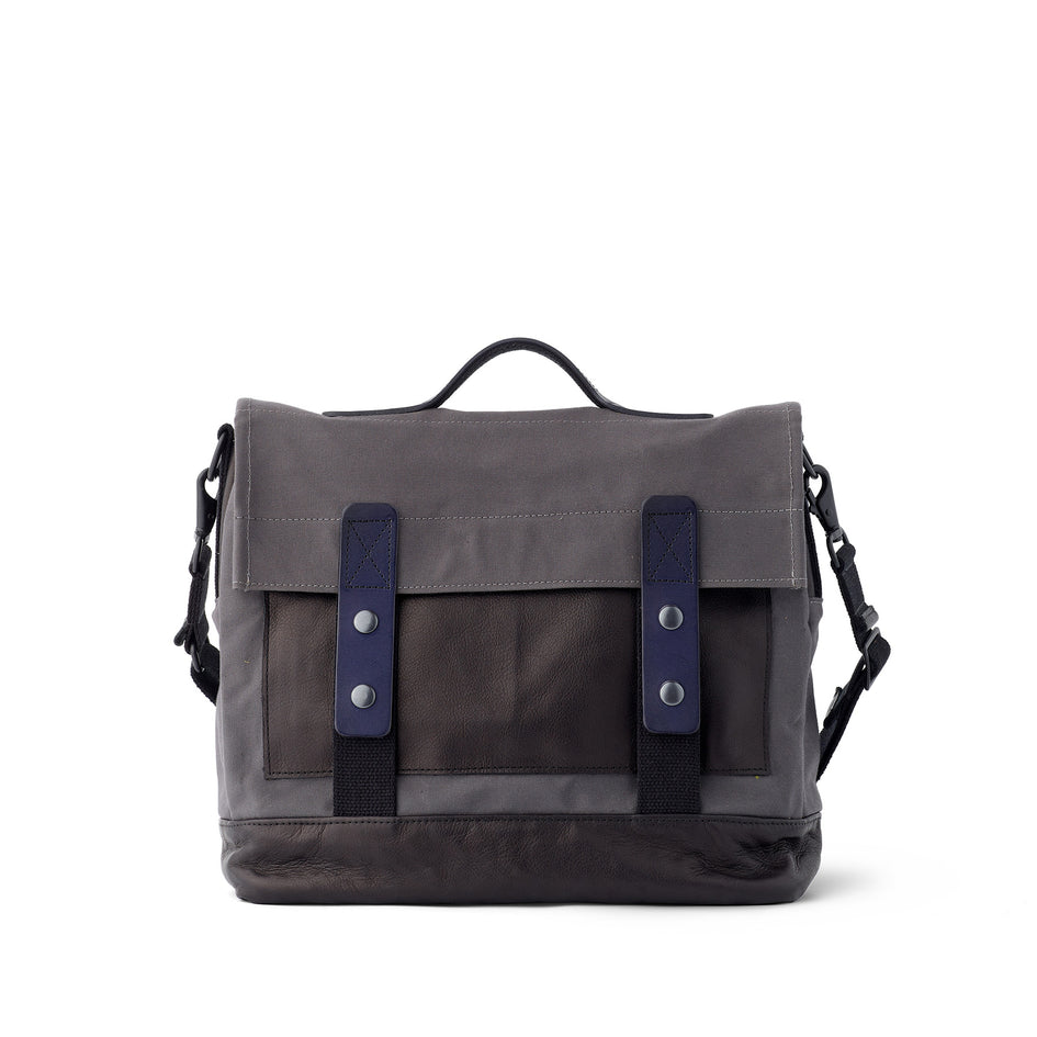 Heath + Stein Supply Bag in Gunmetal Image 3