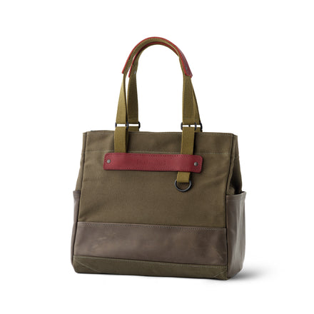 Heath + Stein Union Tote in Kelp