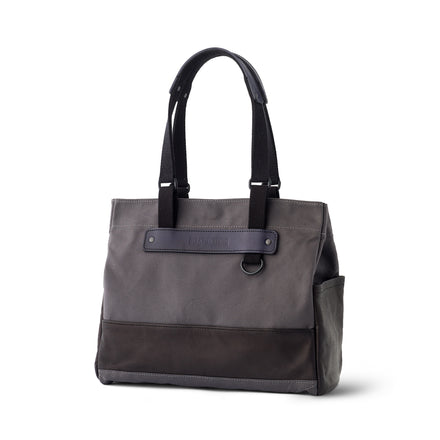 Heath + Stein Union Tote in Gunmetal