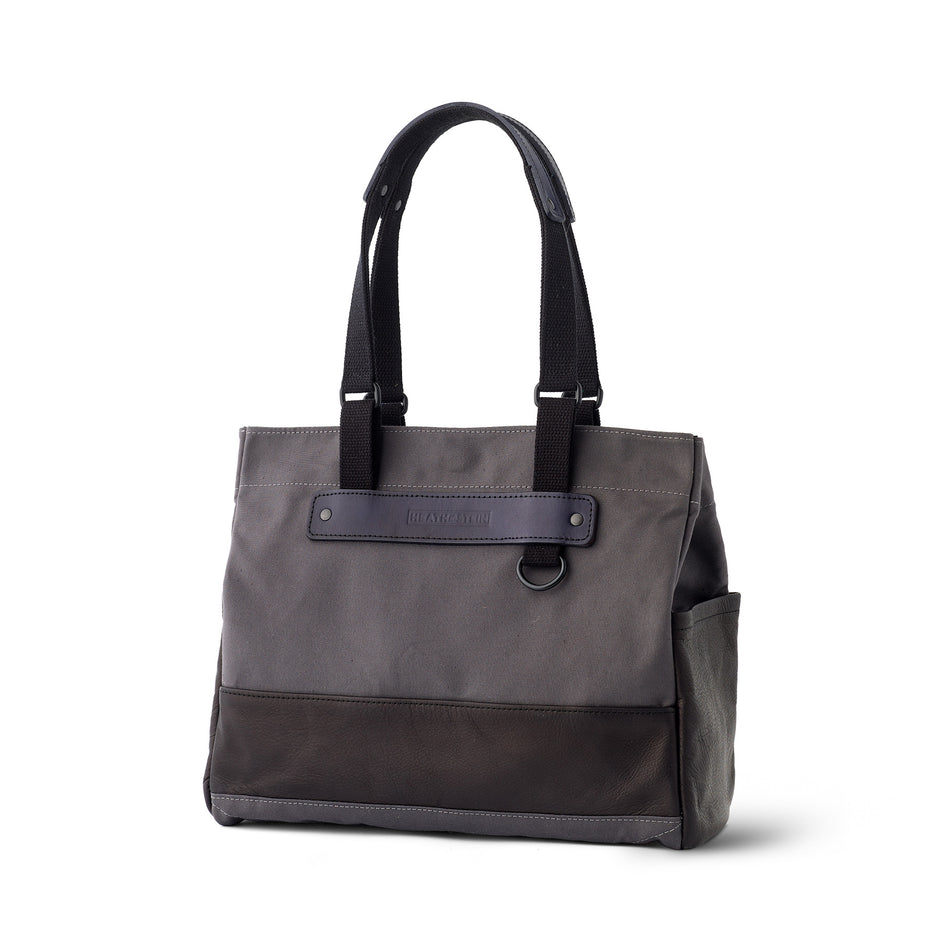 Heath + Stein Union Tote in Gunmetal Image 1