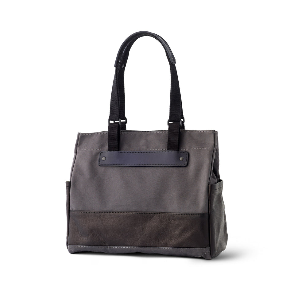 Heath + Stein Union Tote in Gunmetal Image 2