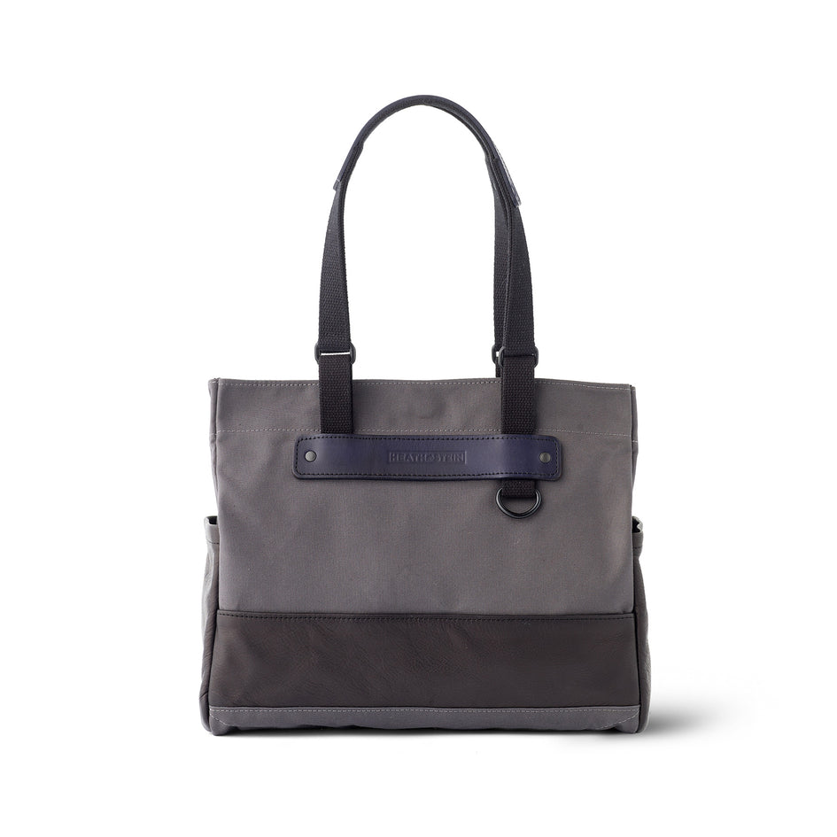 Heath + Stein Union Tote in Gunmetal Image 3