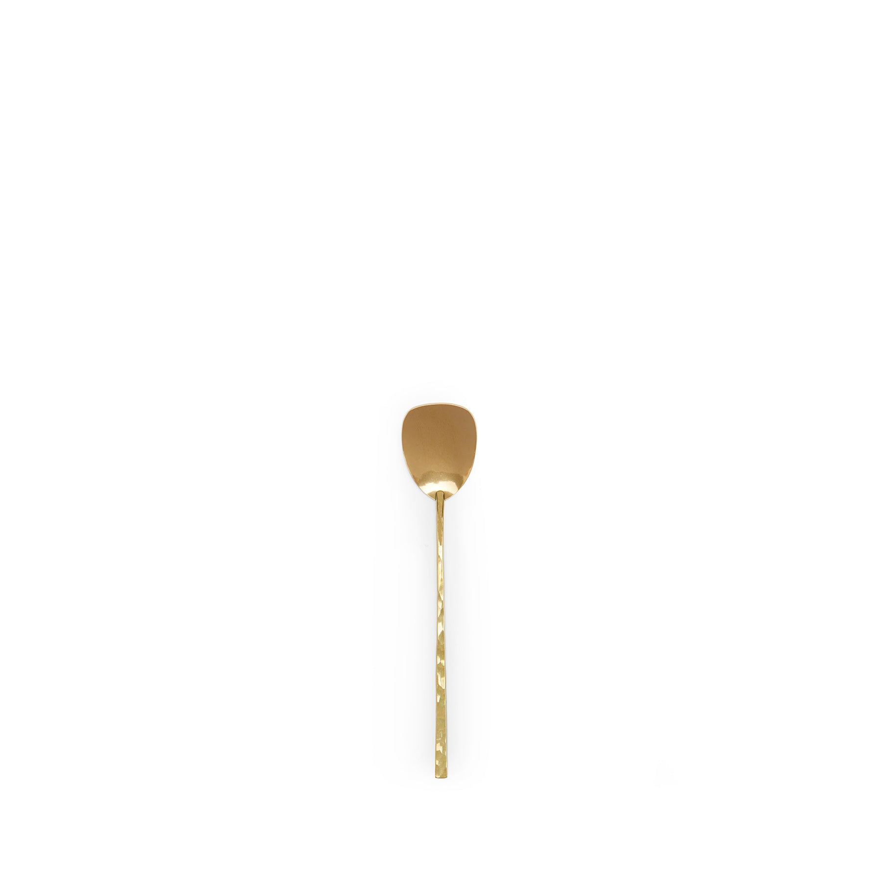 Brass Ice Cream Spoon Zoom Image 1