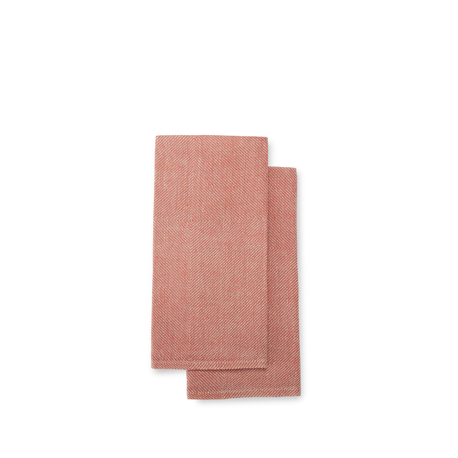 Kypert Napkins in Brick Red (Set of 2) Image 1