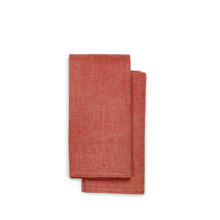Kypert Napkins in Red (Set of 2)