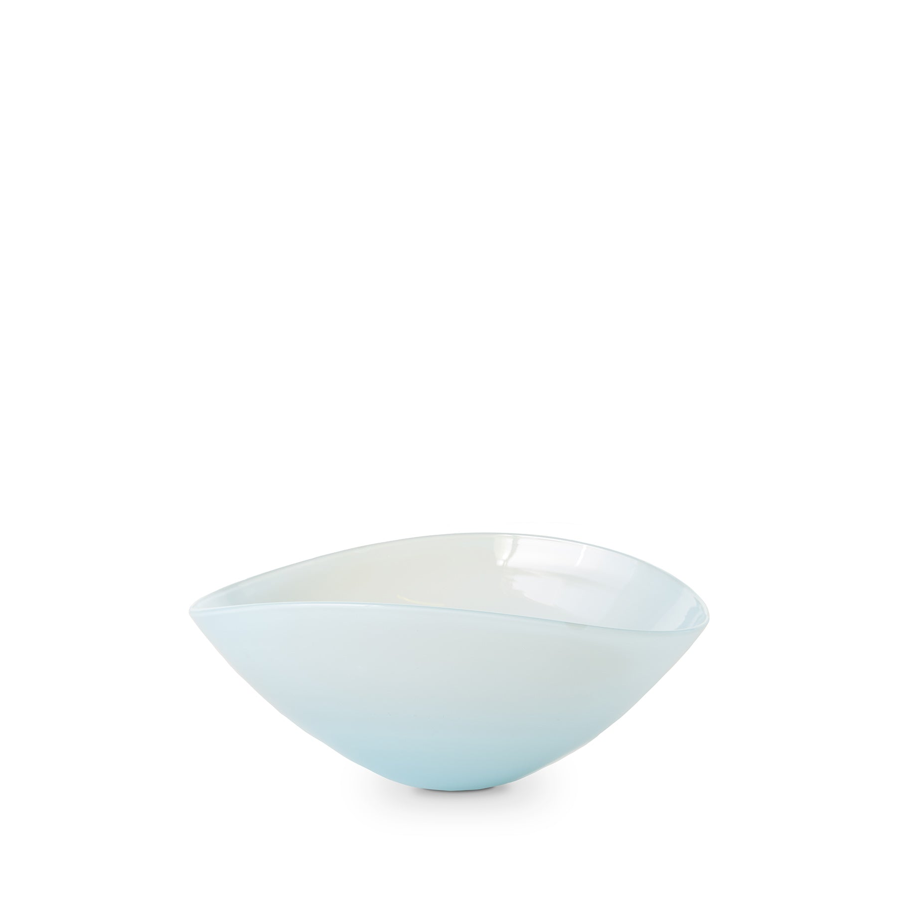 Large Lotus Bowl in Light Blue Zoom Image 1