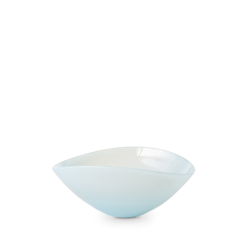 Large Lotus Bowl in Light Blue Image 1