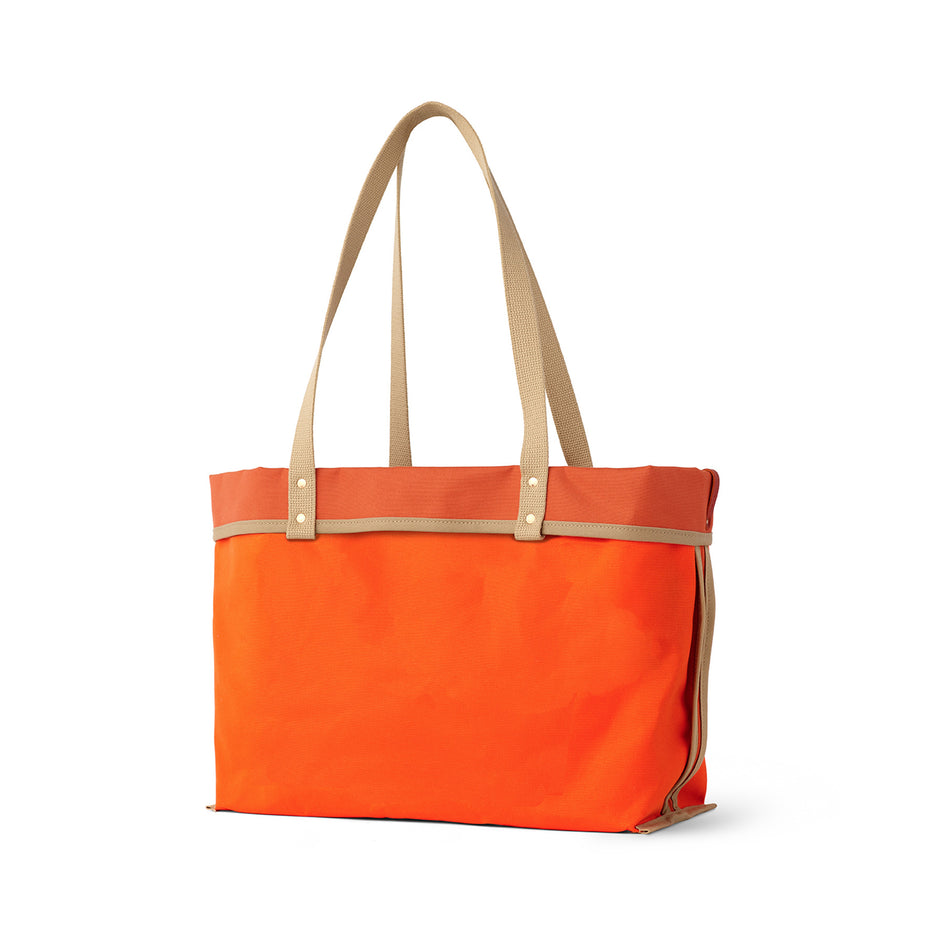 Large Reversible Tote in Campari Image 2