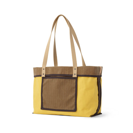 Large Reversible Tote in Fawn
