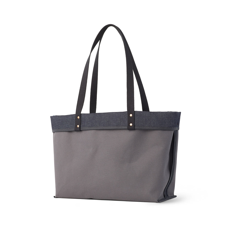 Large Reversible Tote in Slate Zoom Image 2