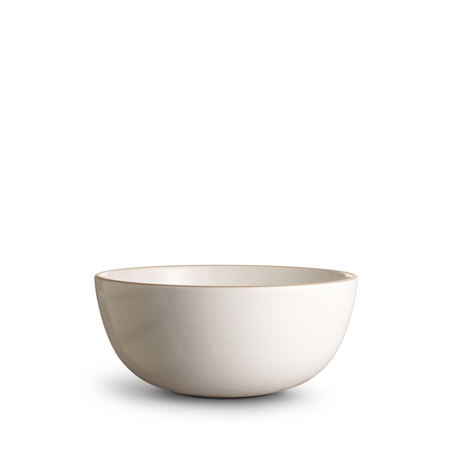 Large Serving Bowl - Opaque White