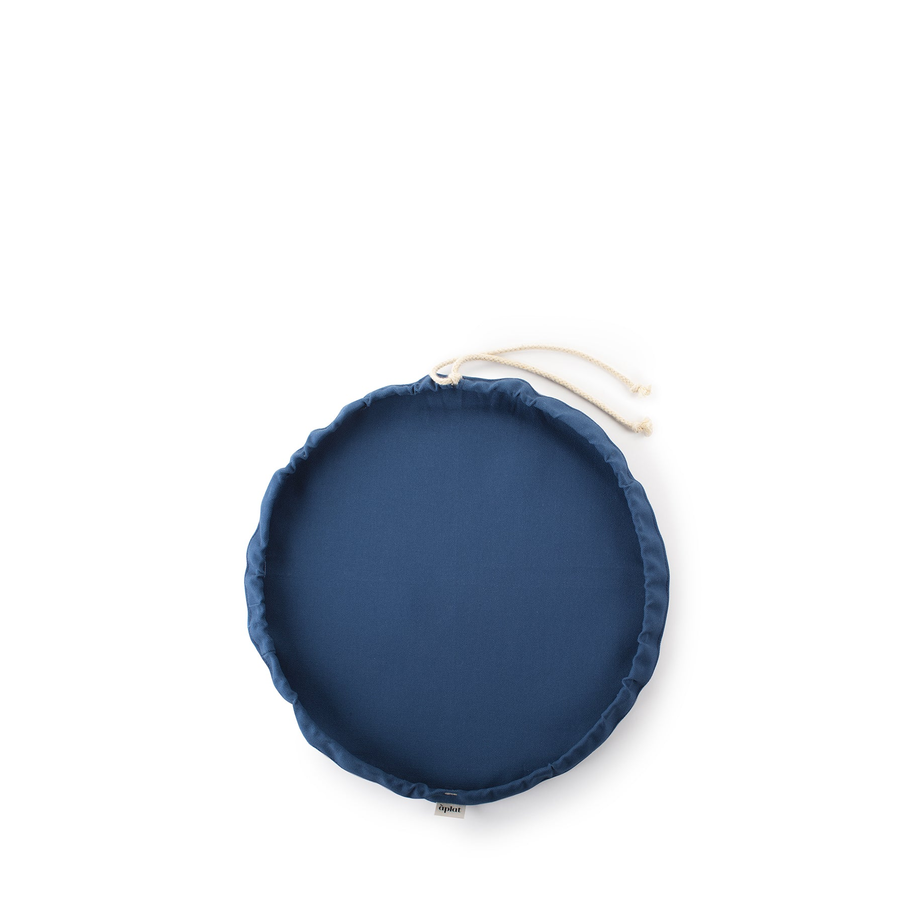 Couvre-Plat Large Bowl Cover in Navy Zoom Image 1