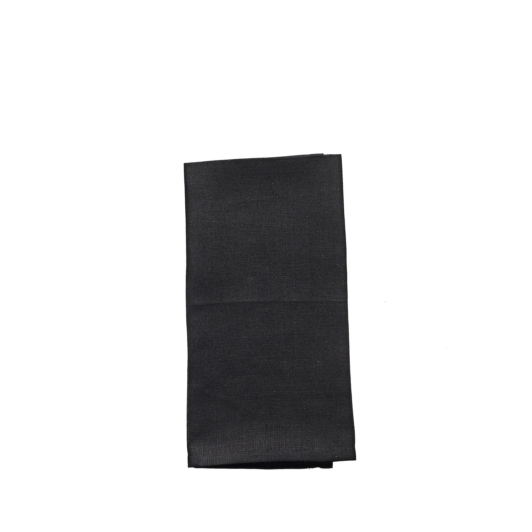 Linen Vence Everyday Napkins - Black