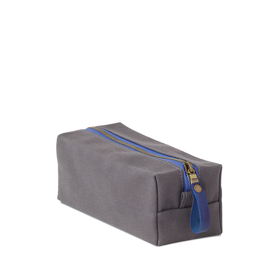 Long Block Pouch in Graphite Image 1