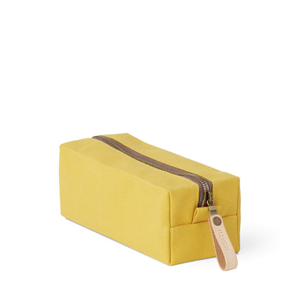 Long Block Pouch in Stone Gold