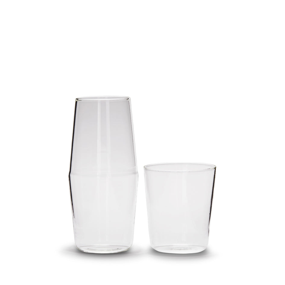 Luisa Bonne Nuit Carafe and Cup in Clear Image 1
