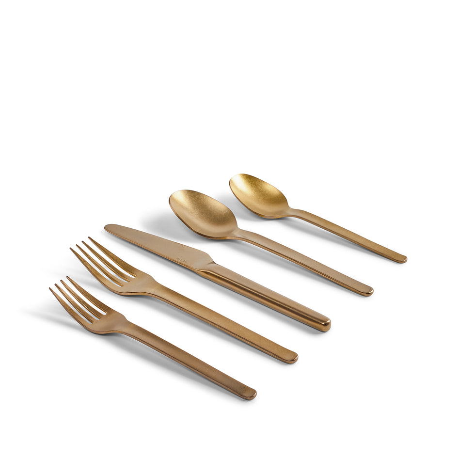 Muir Flatware in Amber (5 Piece Setting) Zoom Image 2