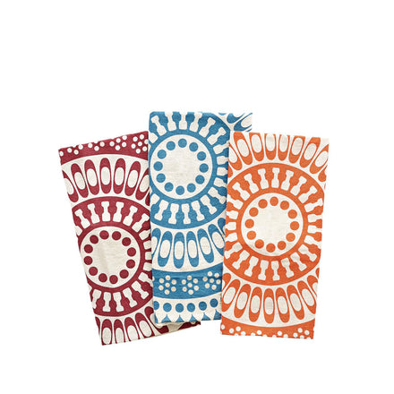 Flour Sack Tea Towels in Multi (Set of 3)