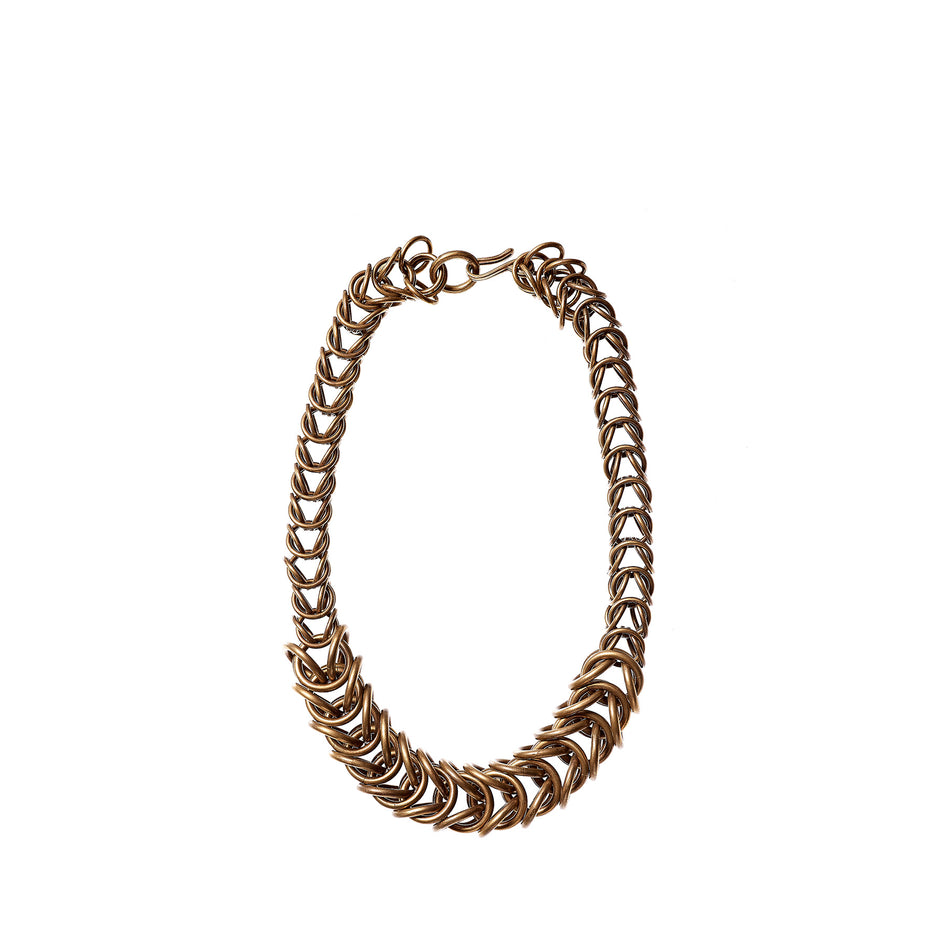 Multi-Link Box Chain Necklace Image 1