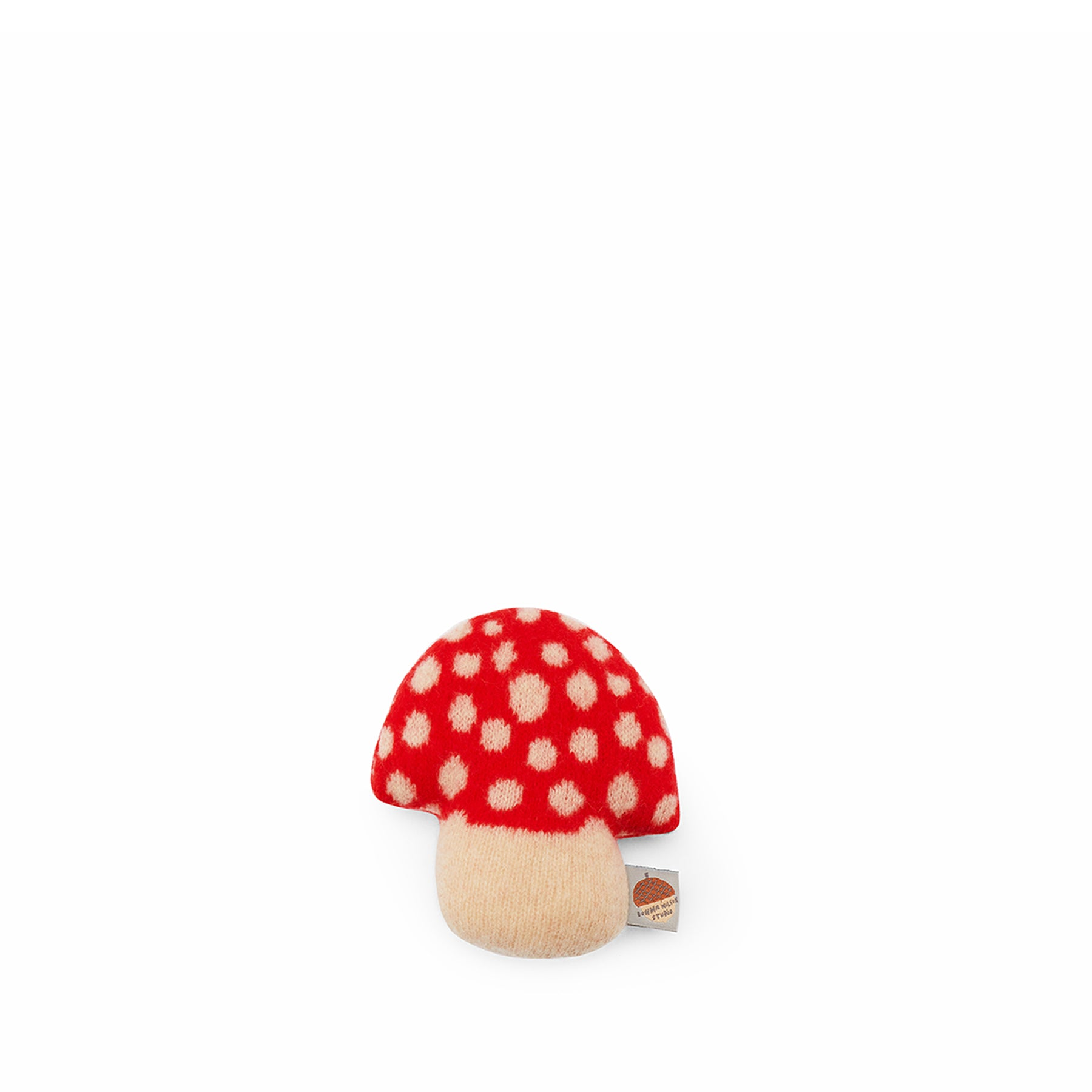 Mushroom Mini in Red Zoom Image 1