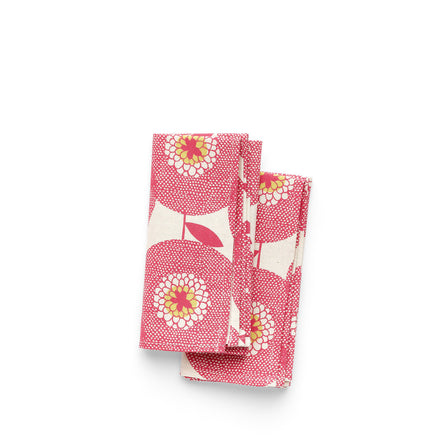 Flowerfields Napkins in Rosy (Set of 2)