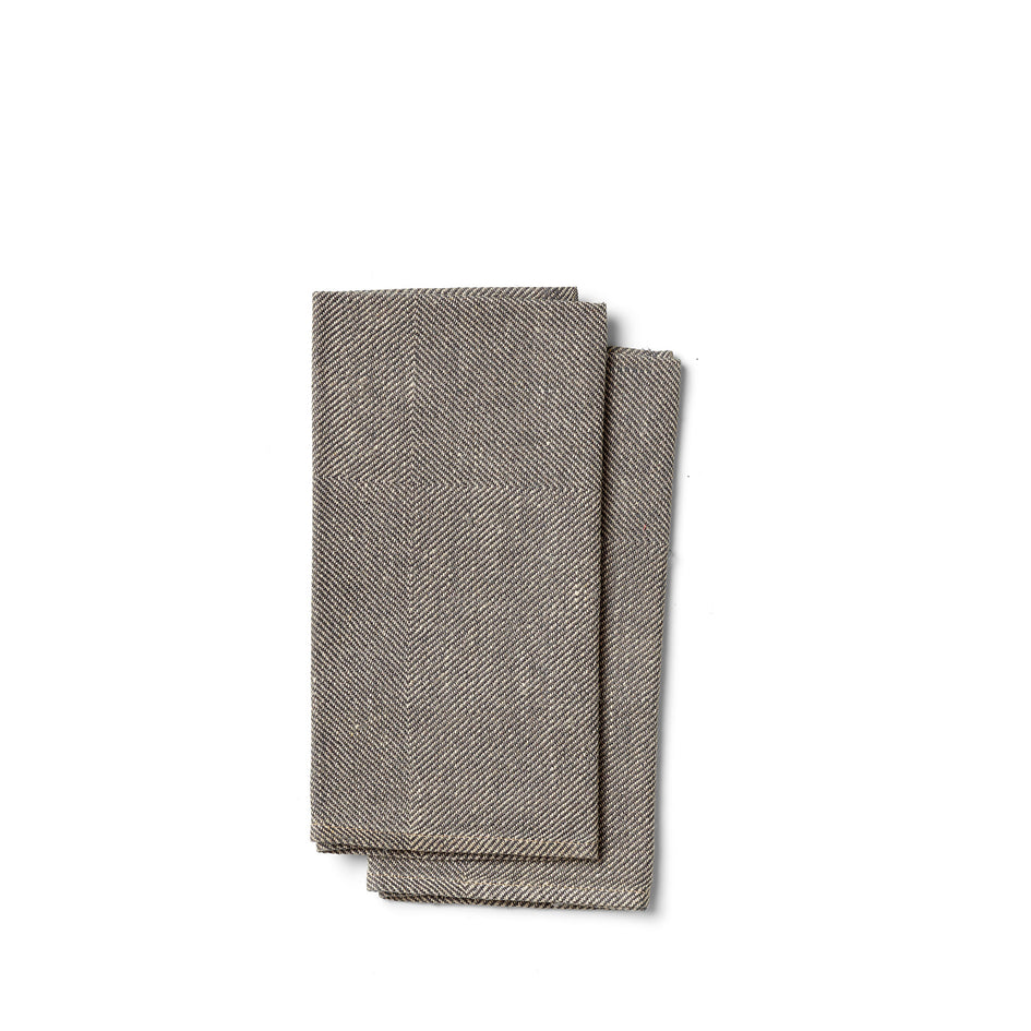 Kypert Napkins in Graphite (Set of 2) Image 1