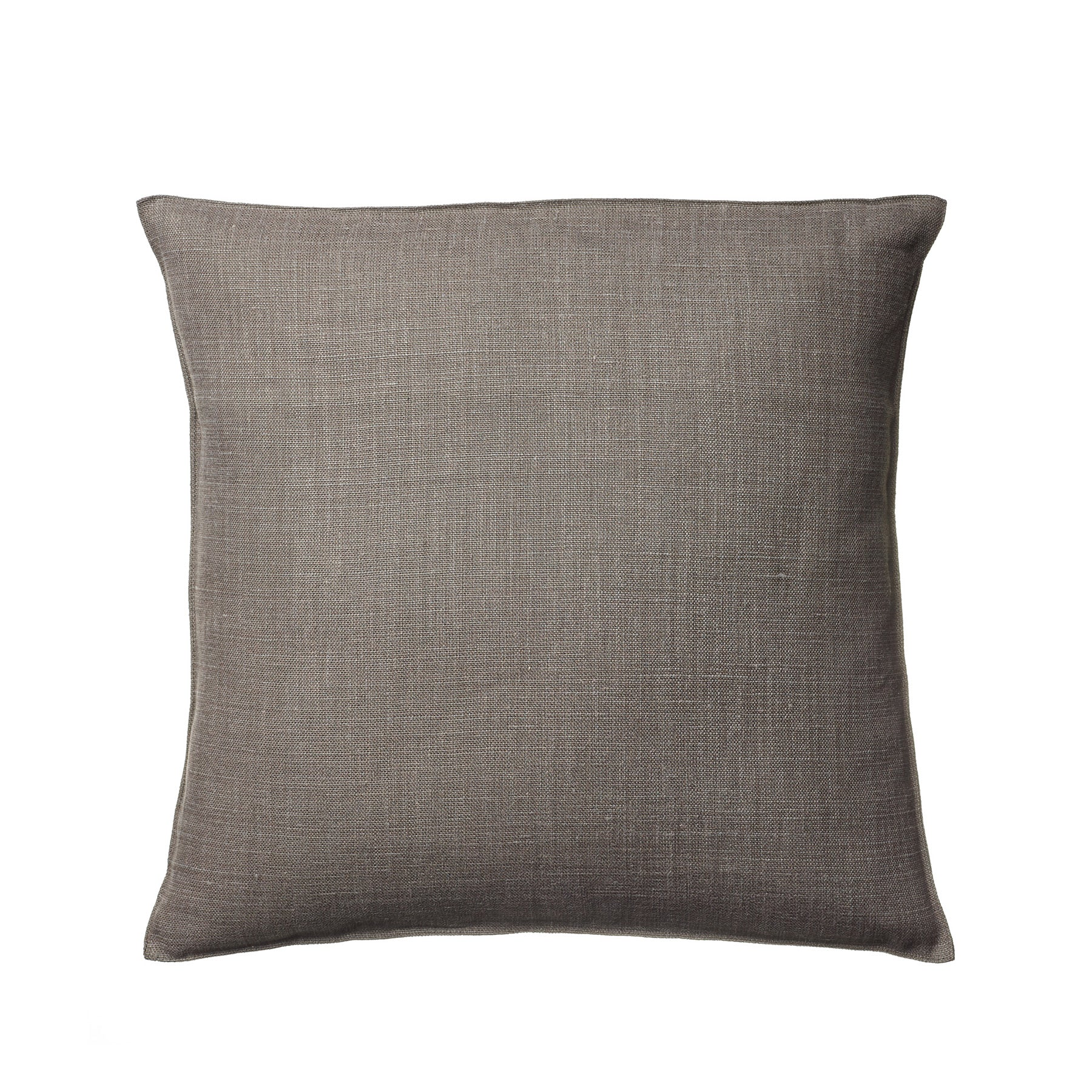 Linen Napoli Pillow in Cafe Noir Zoom Image 1